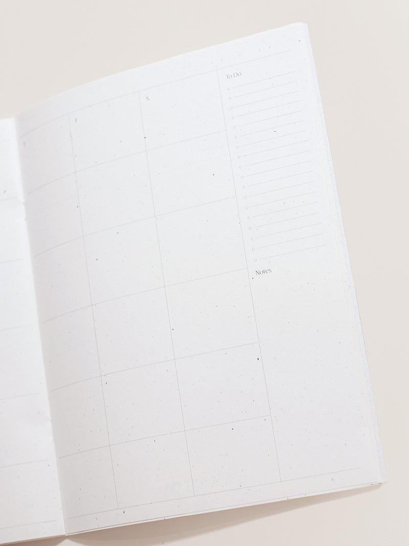 Month Jotter