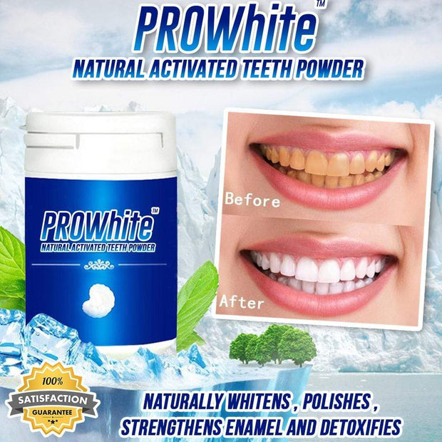 PROWhite™ Natural Activated Teeth Powder