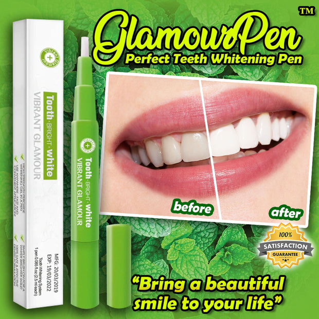 GlamourPen™ Perfect Teeth Whitening Pen