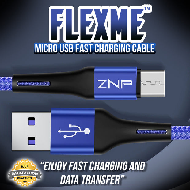 FlexME™ Micro USB Fast Charging Cable