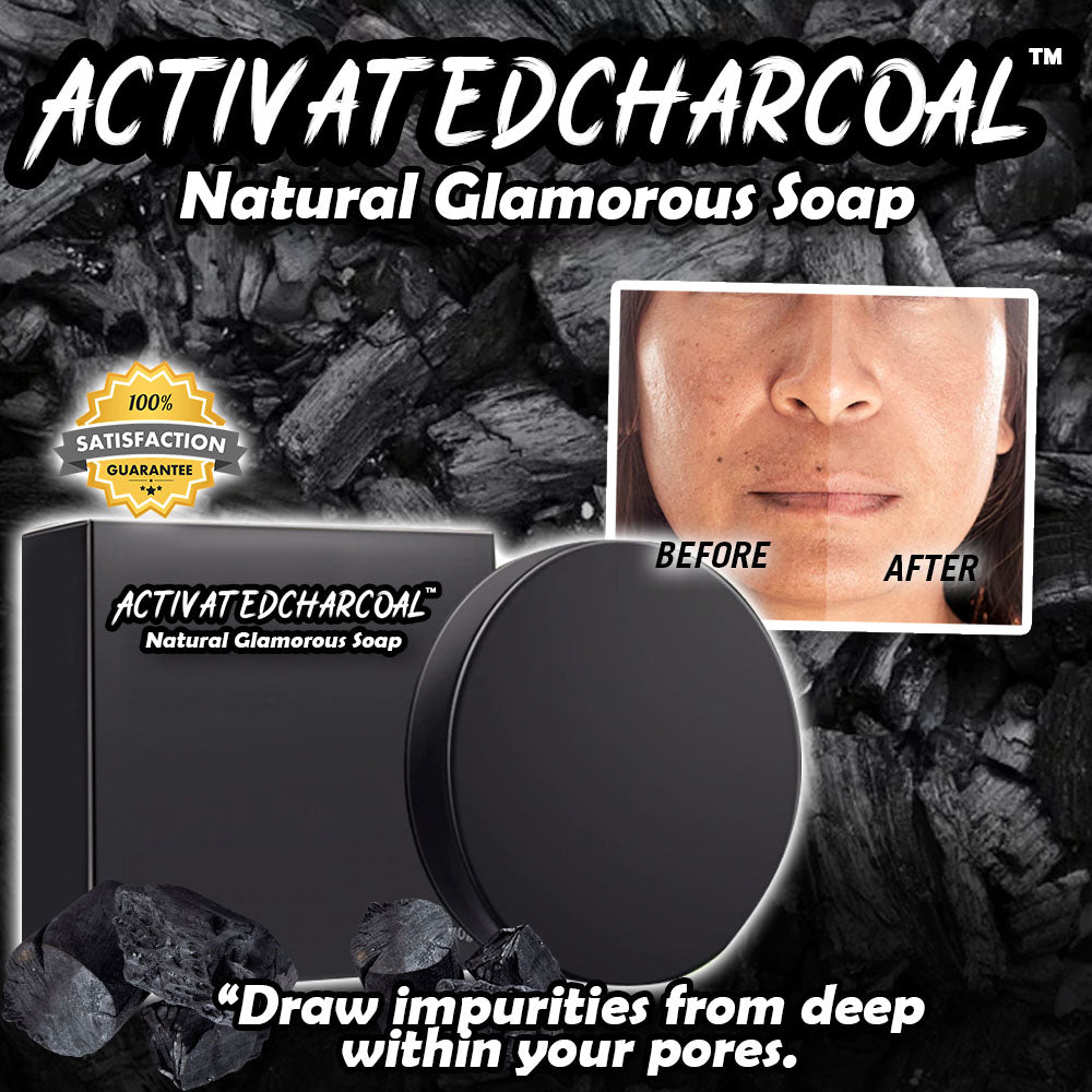 ActivatedCharcoal™ Natural Glamorous Soap