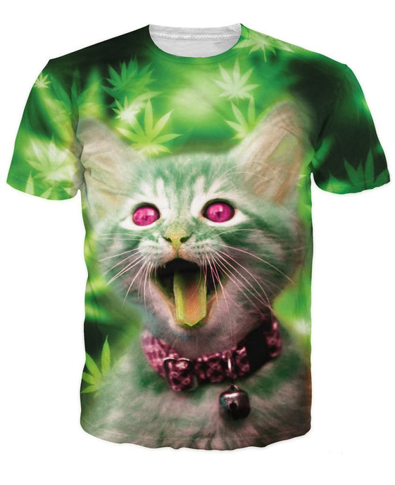 Kitty tees for women