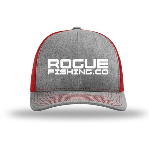 Heather Grey/Red Trucker Hat