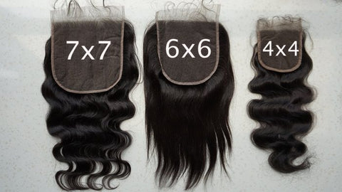 "7""X7"" Lace Closures"