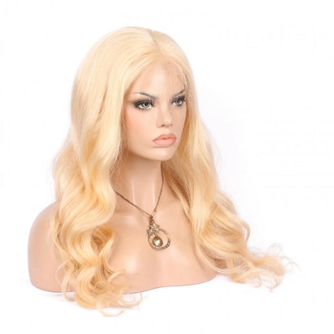 Blonde Full Lace Wigs Body Wave