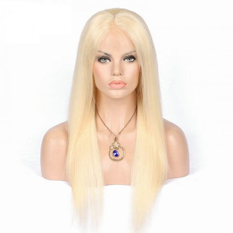 Blonde Full Lace Wigs Straight