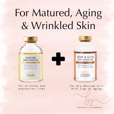 Biologique Recherche BR Singapore Mature, Aging and Wrinkles Skin Quintessential Serum | BareSkin Elements