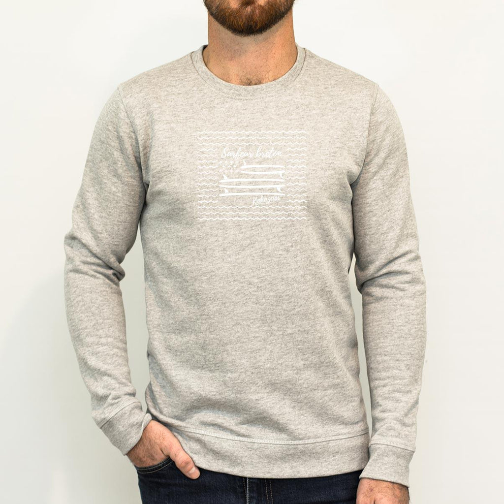 Le Sweat Surfeur Breton