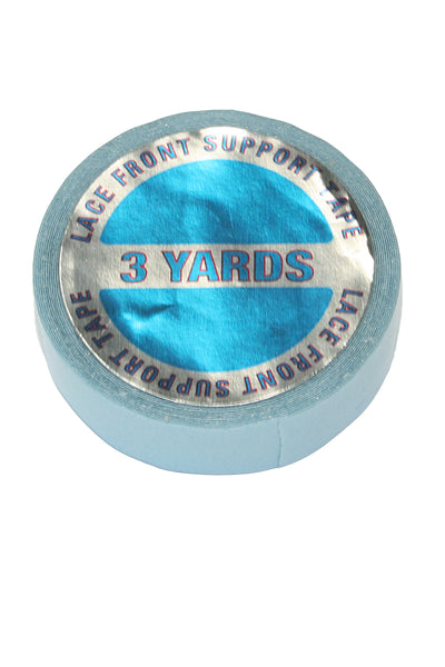 "Blue tape 1/2"" x 3yd roll"