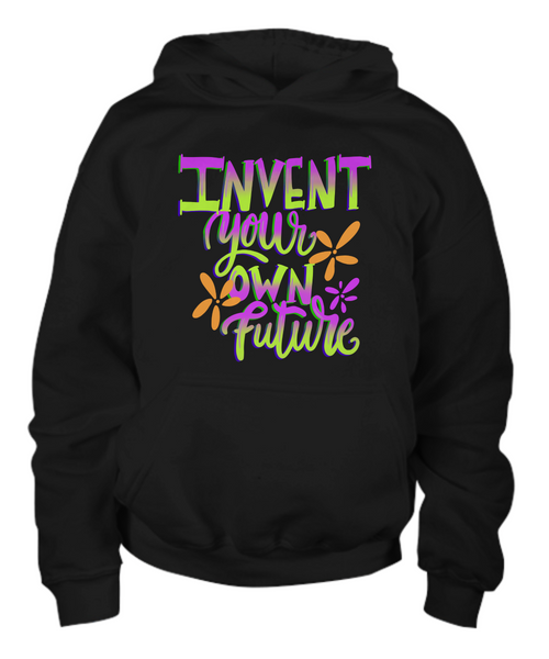 Youth Hoodie Invent Your Own Future