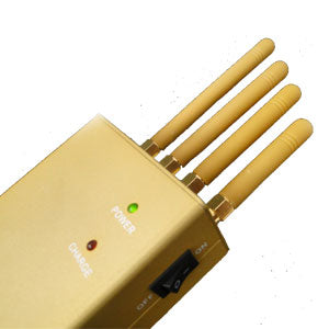 3Watts Portable Mobile Phone and GPS Jammer