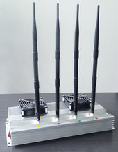 Load image into Gallery viewer, 4 Antennas High Power indoor Mobile phone Jammer