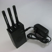 Load image into Gallery viewer, 3 Antenna Portable GPS and Mobile Phone Multi-functional Jammer