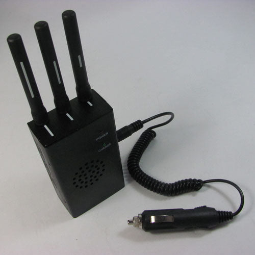 3 Antenna Portable GPS and Mobile Phone Multi-functional Jammer