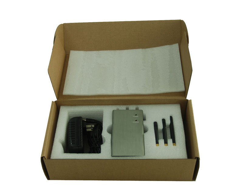 3 Antennas Handheld Style Mobile Phone Jammer for 3G