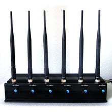 Load image into Gallery viewer, 15W High Power Adjustable 6 Antenna Bluetooth GPS Mobile Phone Jammer