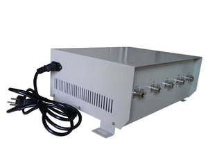 70W High Power 3G 4G Wimax Mobile Phone Signal Jammer with Omnidirectional Antenna