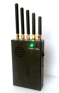 3W Powerful Handheld 3G 4G All Frequency Mobile Phone Signal Jammer