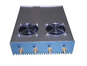 20W High Power Desktop WiFi 3G Cell Phone Jammer with Outer Detachable Power Supply