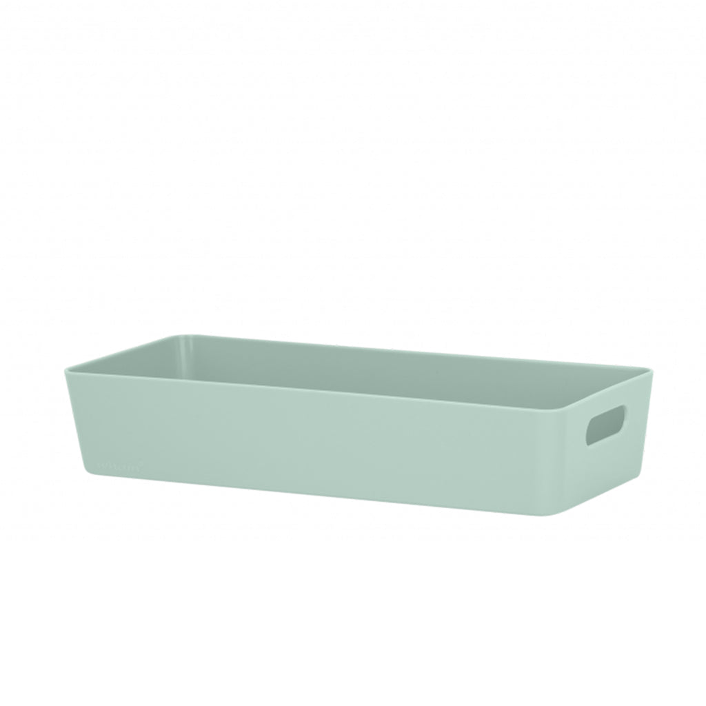 Studio Basket 10.01 Rectangular Silver Sage