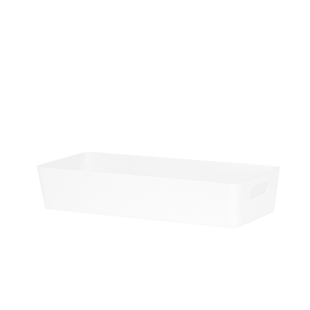 Studio Basket 10.01 Rectangular Ice White