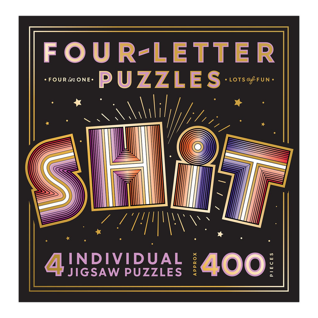 SHIT Four Letter Puzzle 400 piece
