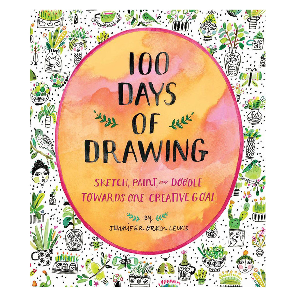 100 Days of Drawing - Guided Sketchbook