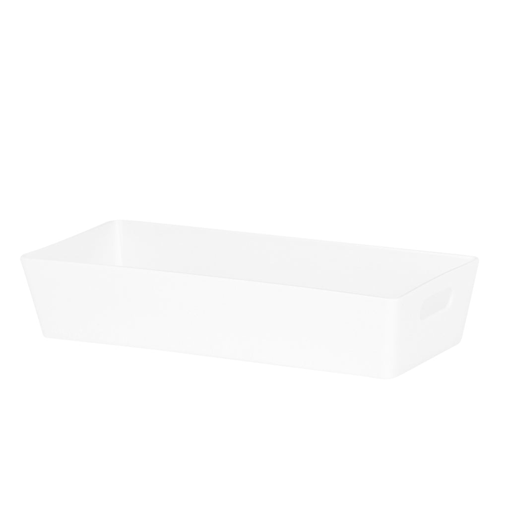 Studio Basket 2.01 Rectangular Ice White