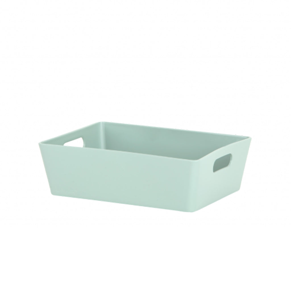 Studio Basket 3.01 Rectangular Silver Sage