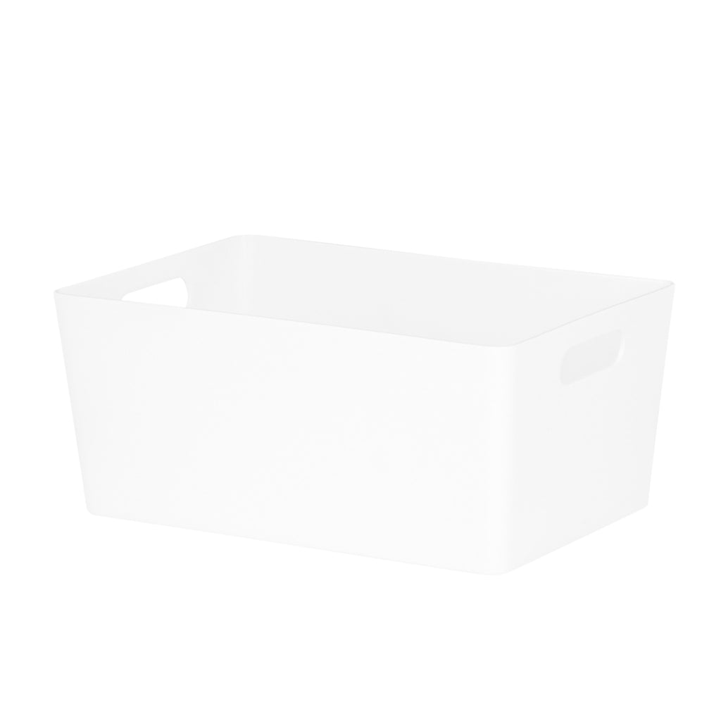 Studio Basket 4.02 Rectangular Ice White Plastic