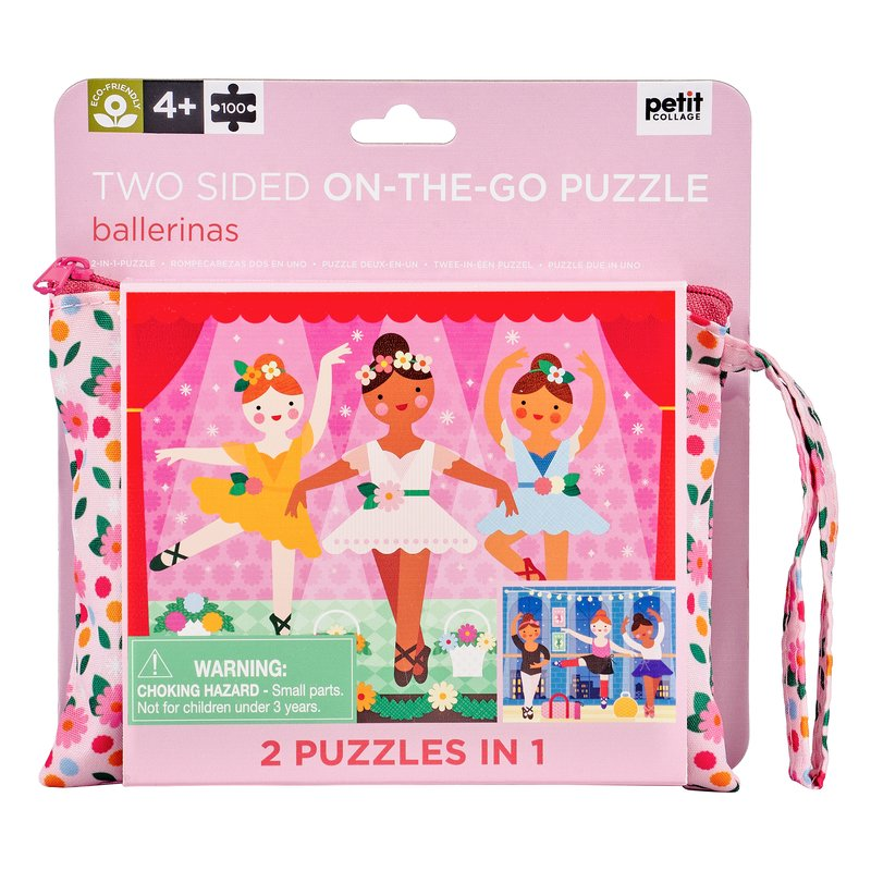 Ballerina Two Sided On The Go Puzzle 100 Piece