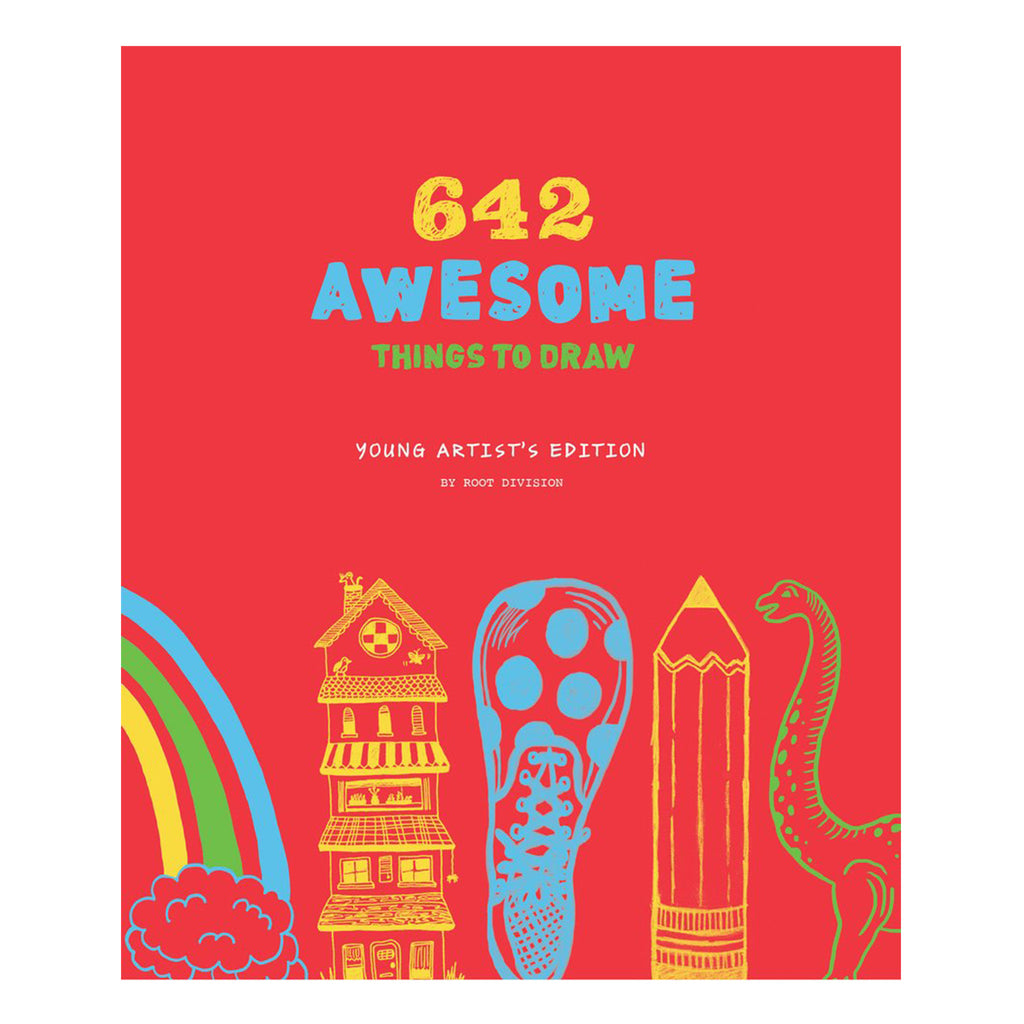 642 Awesome Things To Draw - Inspirational Sketchbook