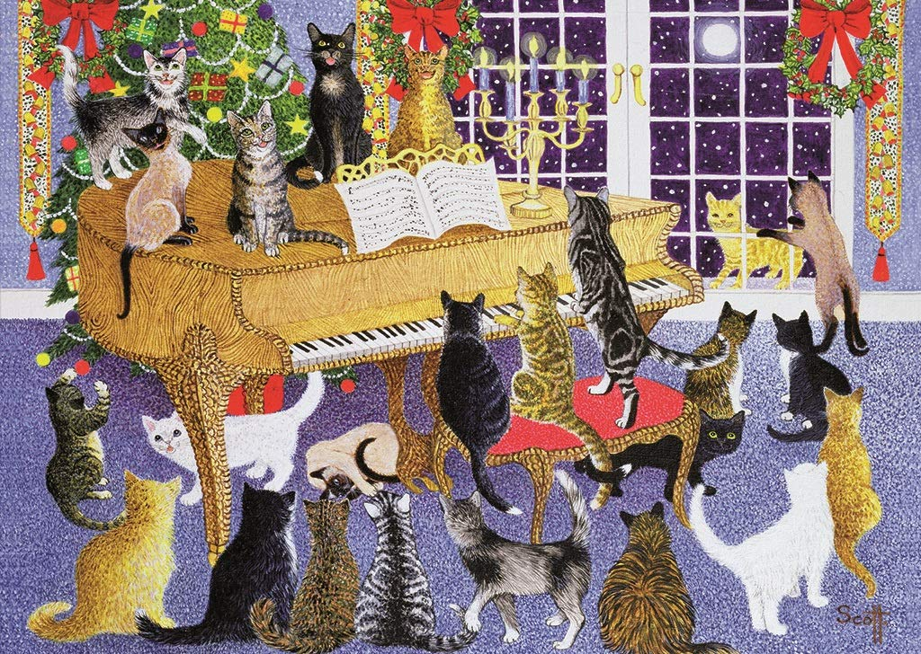 Christmas Chorus - 500 Piece Galison Jigsaw
