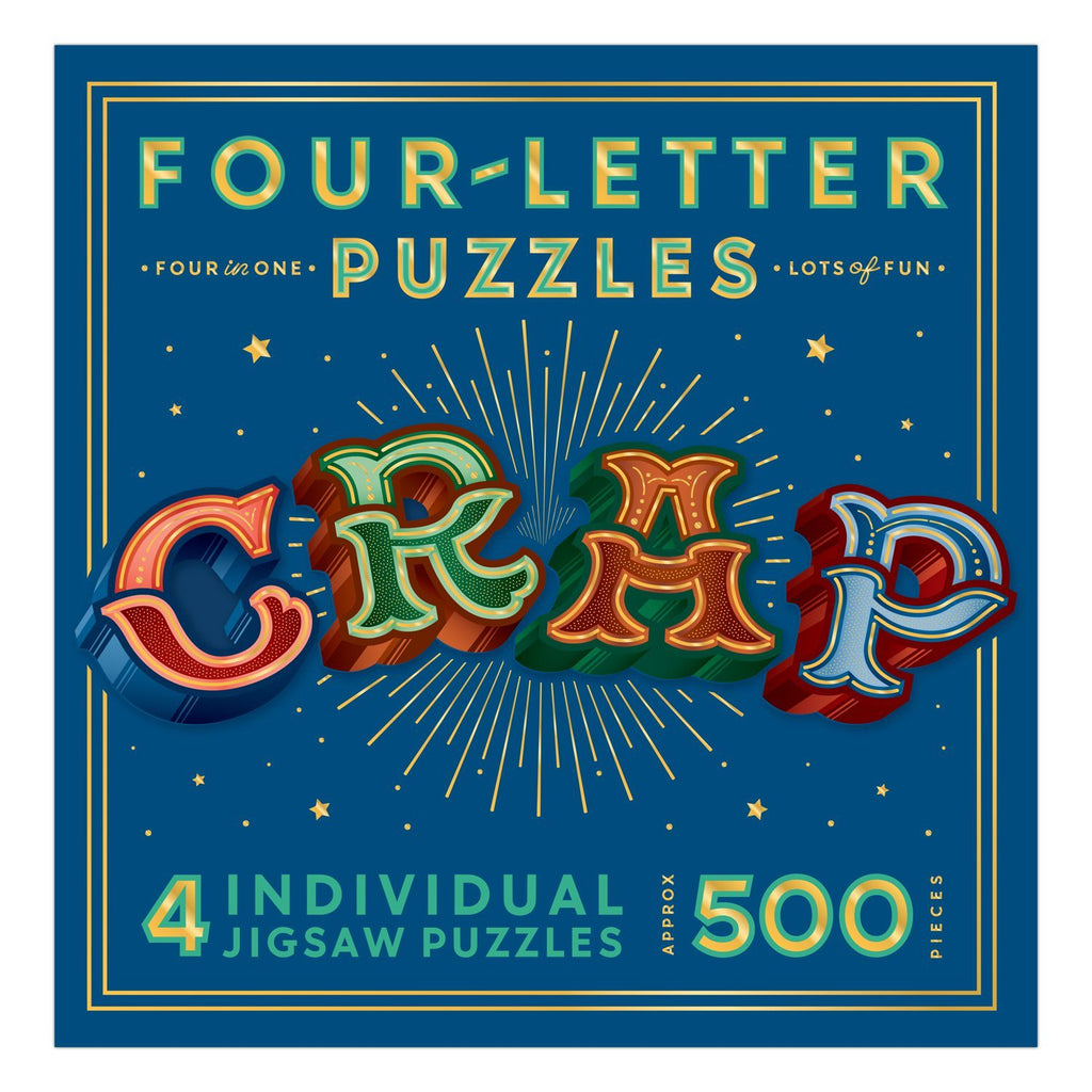 CRAP Four Letter Puzzle 500 piece