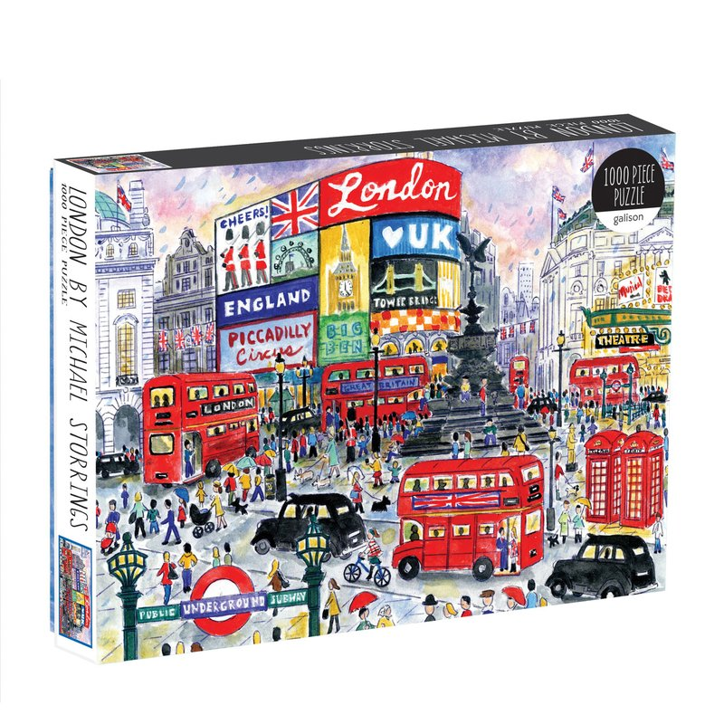 London Michael Storrings- 1000 Piece Puzzle