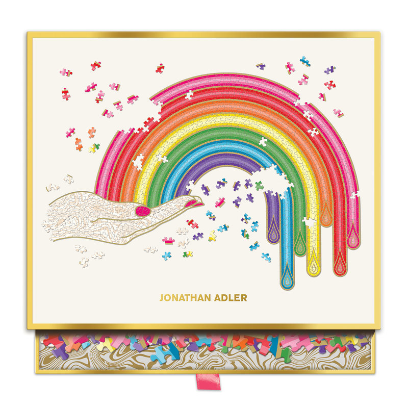 Jonathan Adler Rainbow Hand 750 Piece Puzzle - £5 NHS Donation