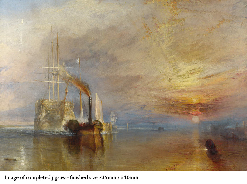 Fighting Temeraire, William Turner - 1000 Piece Puzzle