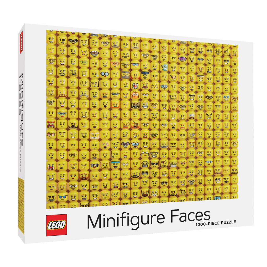 Puzzle LEGO Minifigure Faces Puzzle