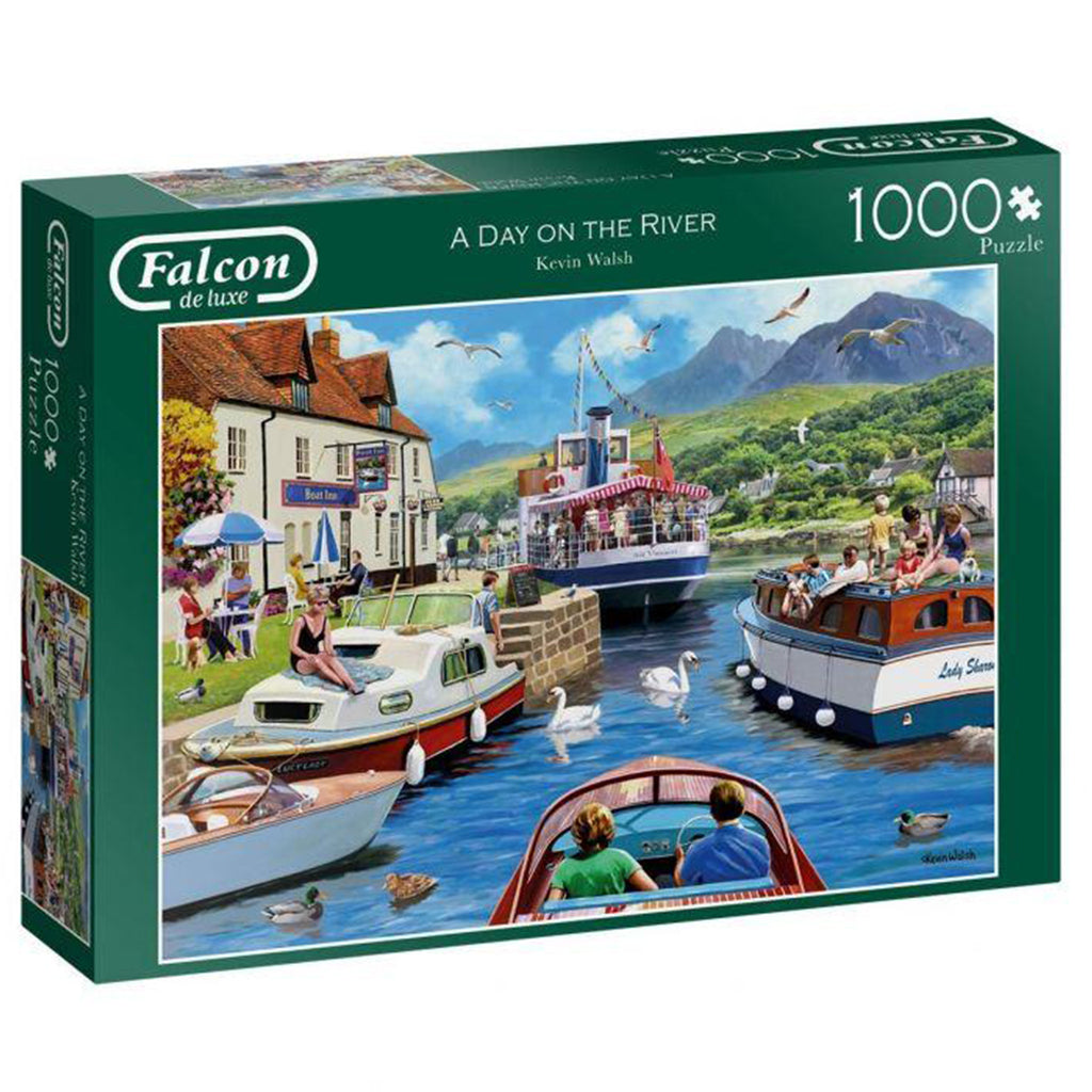 A Day On The River 1000 piece puzzle