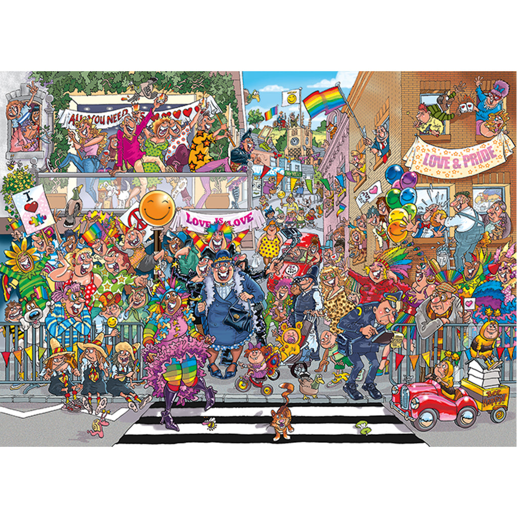 Original 34 A Piece of Pride 1000 Piece Puzzle