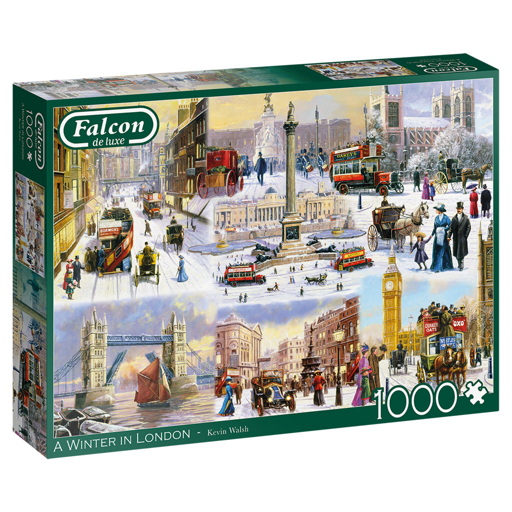 A Winter In London 1000 Piece Puzzle