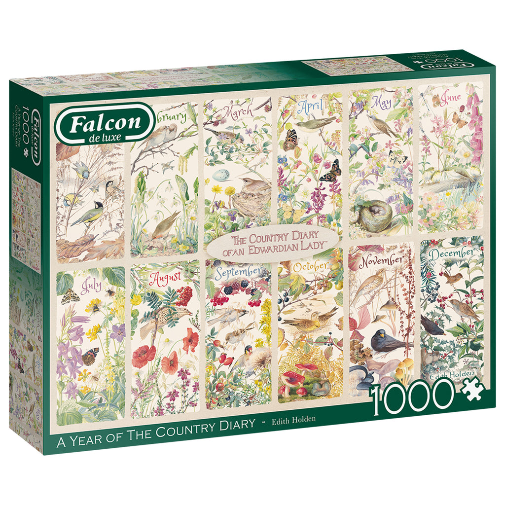 A Year Of The Country Diary 1000 Piece Puzzle