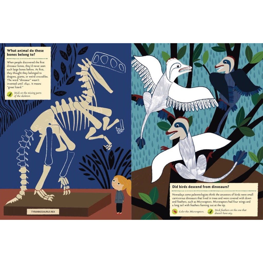 My Nature Sticker Activity Book: In The Age Of Dinosaurs