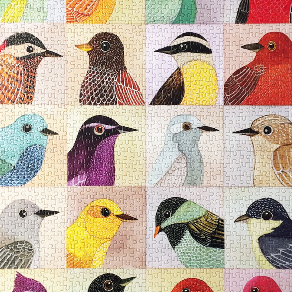 Avian Friends - 1000 Piece Puzzle