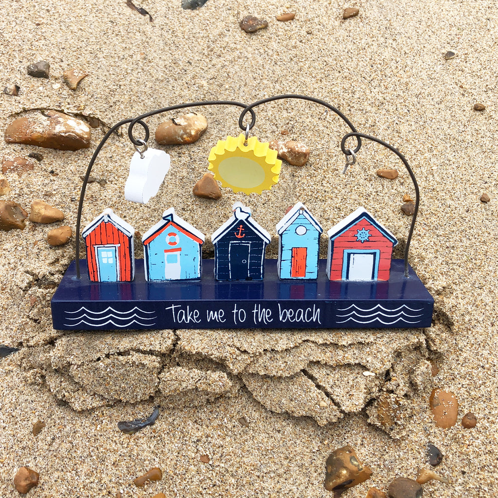 Take Me To The Beach Wooden Decoration