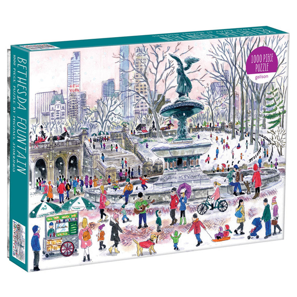 Michael Storrings Bethesda Fountain - 1000 Piece Puzzle