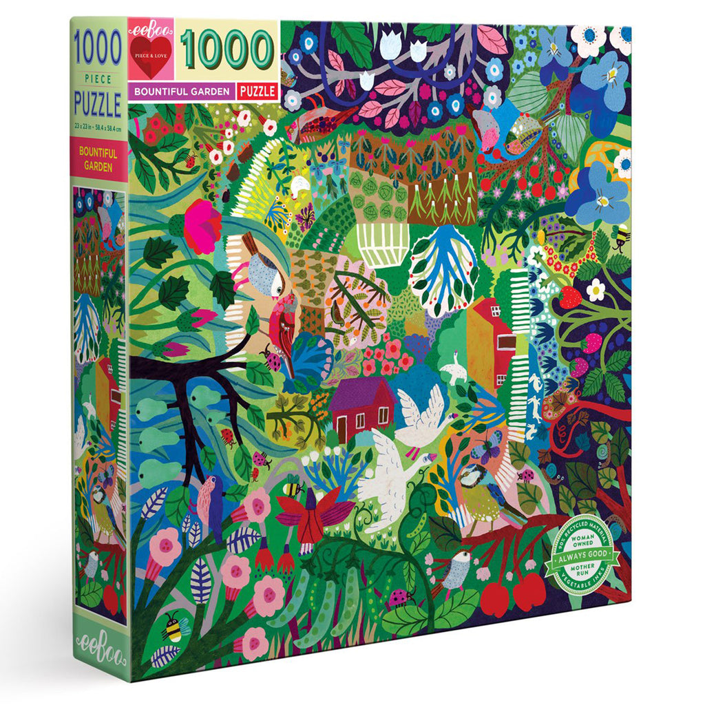 Bountiful Gardens 1000 Piece Puzzle