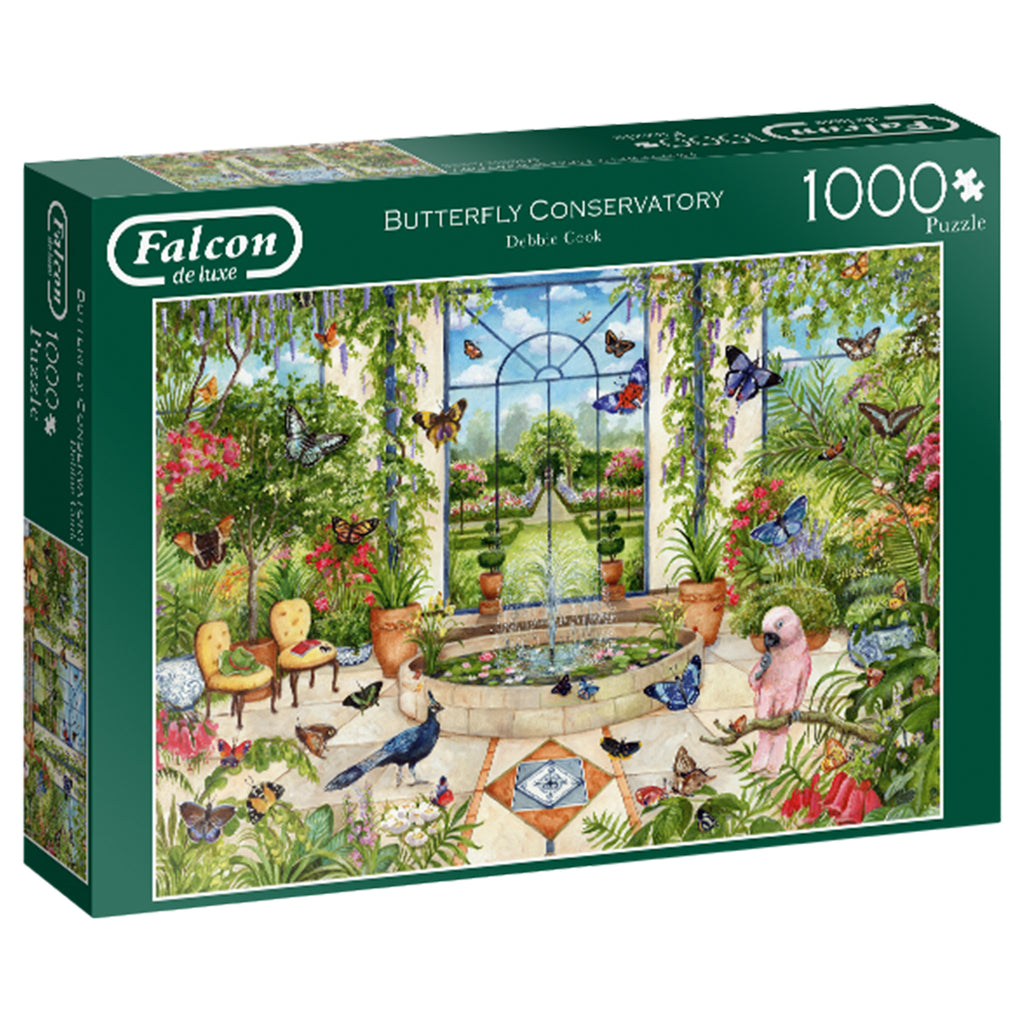 Butterfly Conservatory 1000 piece puzzle