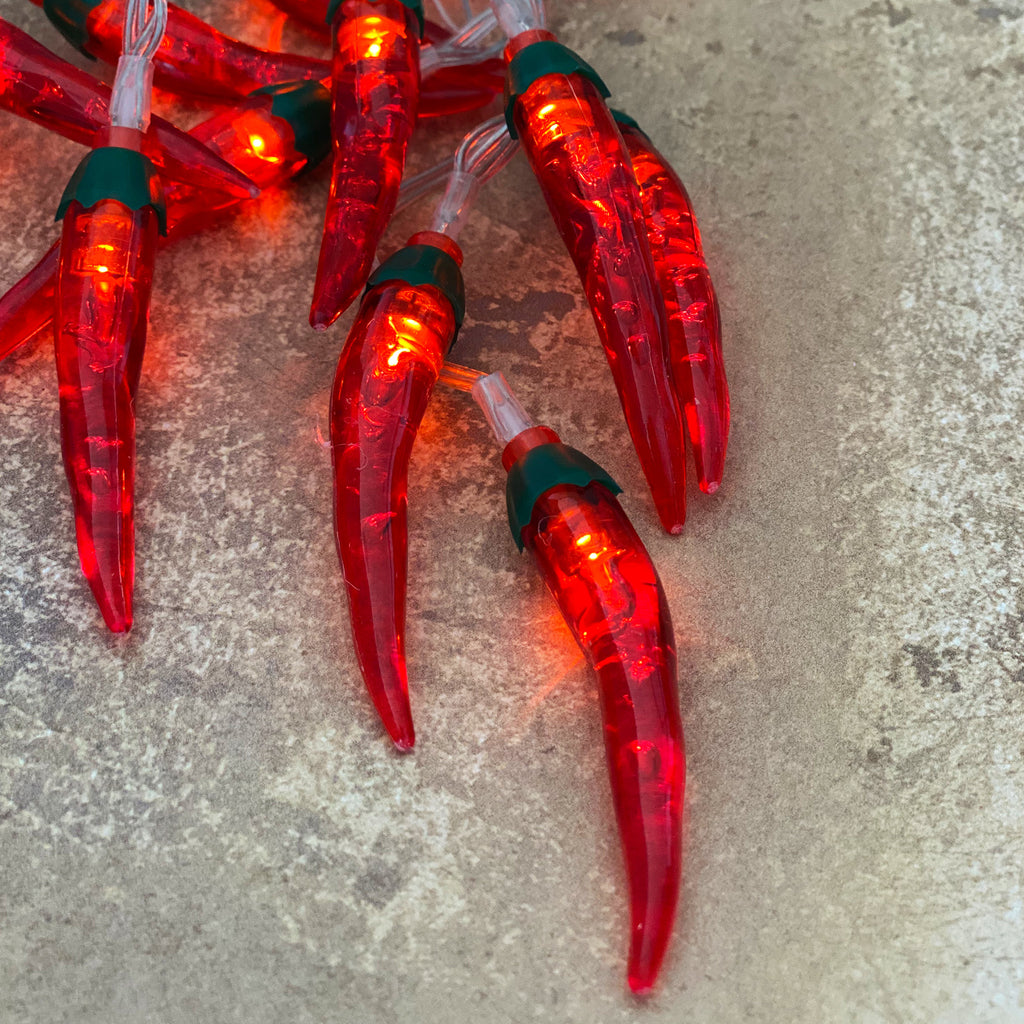 Frida Kahlo Chilli Pepper Lights