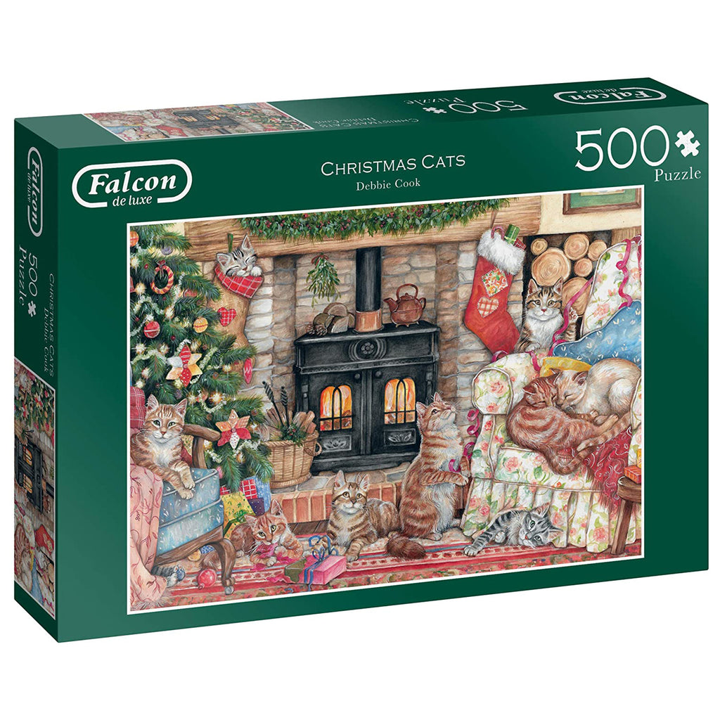The Christmas Cats Puzzle 500 Piece